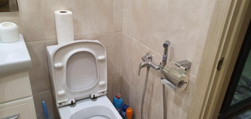 A bathroom at Apartment on Lenina 119a