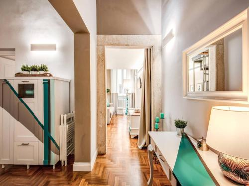 A kitchen or kitchenette at Residenza Paola