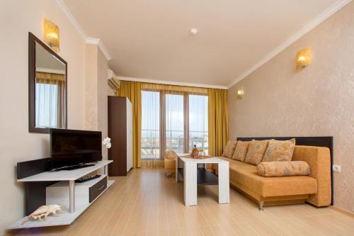 Кът за сядане в Хотел Ирис