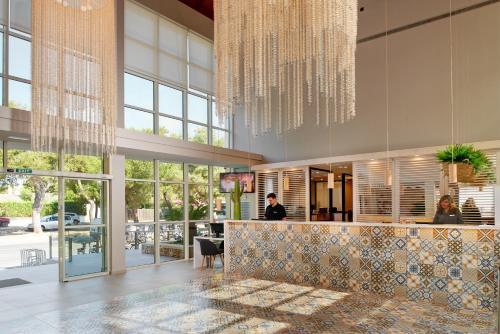 De lobby of receptie bij Protur Floriana Resort 3* SUP