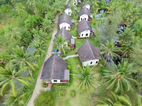 A bird's-eye view of Khaolak Blue Lagoon Resort