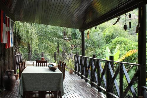 A balcony or terrace at Old Vic Travellers Inn Nelspruit