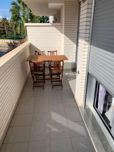 Un balcón o terraza de Residencial Elegance