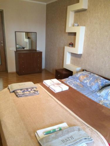 Uma TV ou centro de entretenimento em VIP Molocan Garden - Old city, Founatain square, Nizami street area apartment