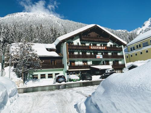 T3 Gasthof Spullersee during the winter