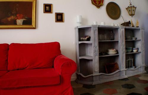 A seating area at La Dimora di Sara - Provenza