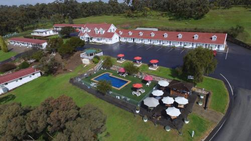 A bird's-eye view of Clare Valley Motel