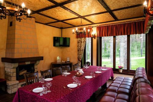 Ресторан / где поесть в Парк-отель Грааль Кемерово