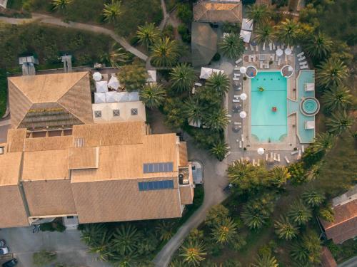 Art Hotel Debono iz ptičje perspektive