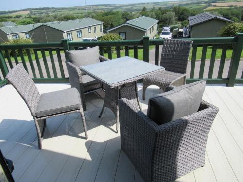 A balcony or terrace at Lodge 283