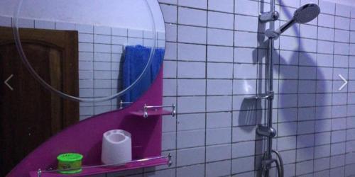 A bathroom at keur Jamm