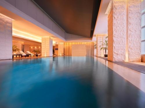 The swimming pool at or near Jumeirah Himalayas Hotel Shanghai
