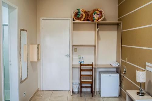 A bathroom at Pousada Cataratas