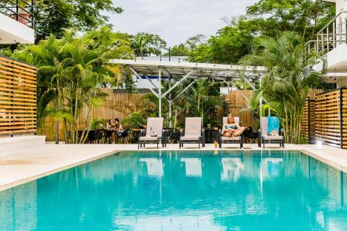 The swimming pool at or near In the Shade Hotel - Coworking - Adults Only
