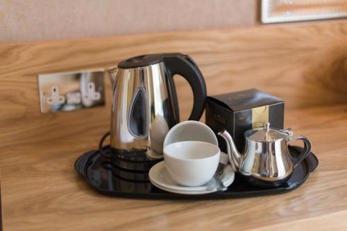 Coffee and tea-making facilities at The Royal Hotel