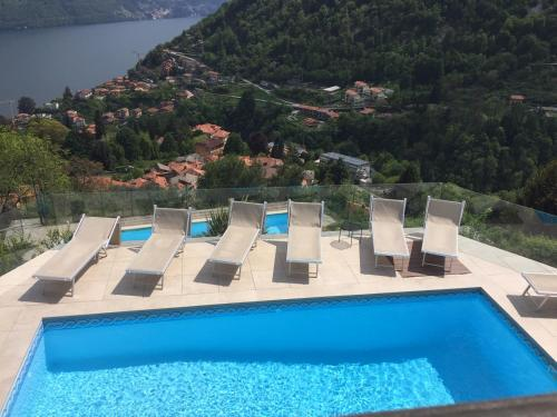 The swimming pool at or near Villa Lilla