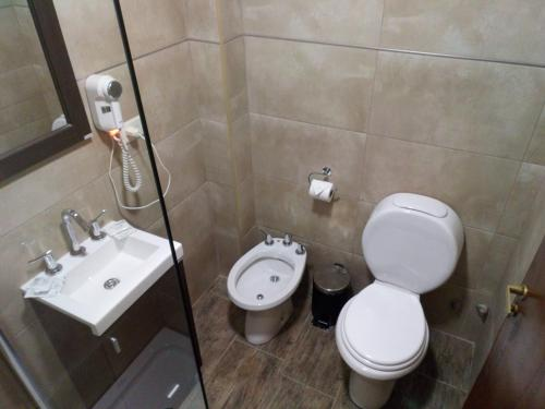 A bathroom at Lar Aike