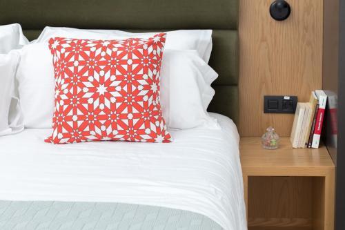 Кровать или кровати в номере Suites 1478
