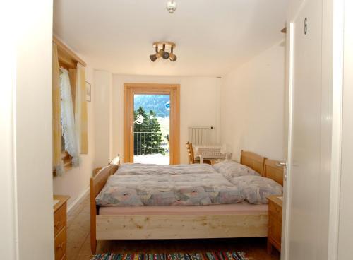 Ein Bett oder Betten in einem Zimmer der Unterkunft Berggasthaus Sücka
