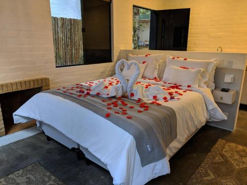 Cama ou camas em um quarto em Resort Magnifico