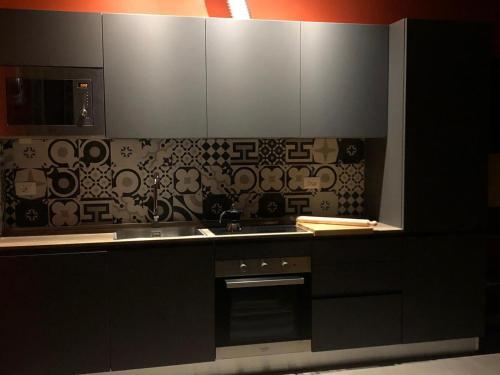 Una cocina o zona de cocina en Zanhotel Regina