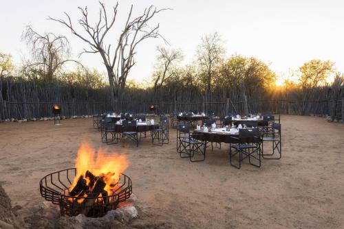 A restaurant or other place to eat at Mokuti Etosha Lodge
