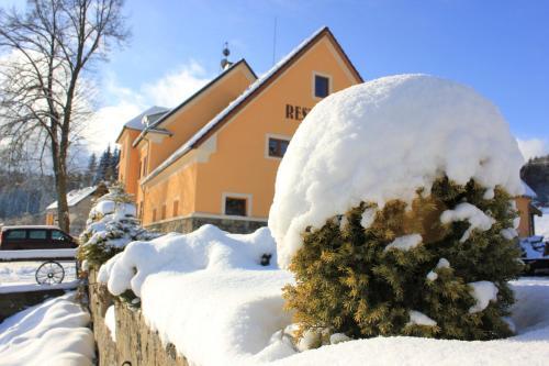 Pension Pod Lipou v zimě