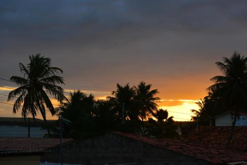 The sunrise or sunset as seen from the guest house or nearby