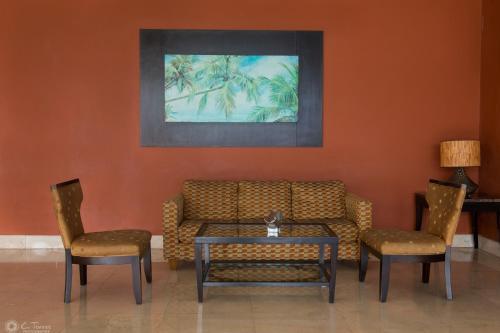 Zona de estar de Hotel Sand Diamond