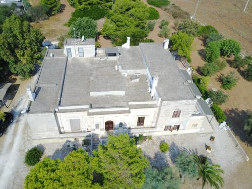 Vista aerea di Villa Boschetto B&B - Apartments