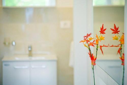 A bathroom at Apartmani Elio