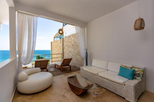 Zona de estar de Dco Suites Lounge & Spa