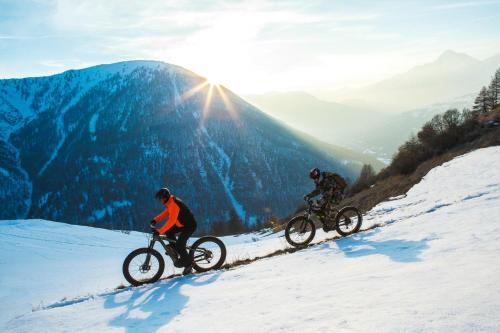 Biking at or in the surroundings of Uappala Sestriere