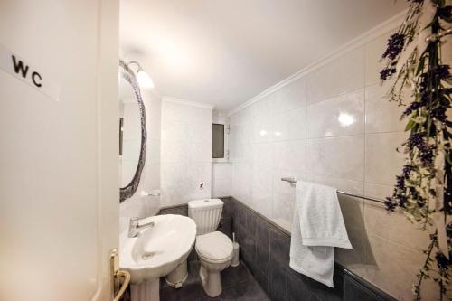 A bathroom at Athens Top Hill Sea View Villa