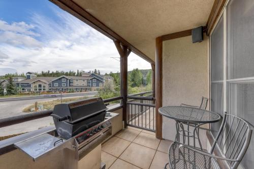 A balcony or terrace at Corral at Breckenridge