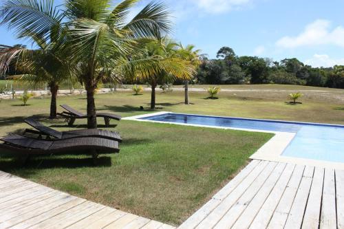 The swimming pool at or near Paradise Golf Praia do Espelho