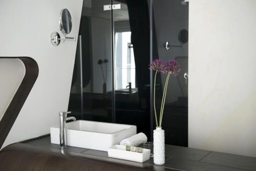 Salle de bains dans l'établissement Hotel Q! Berlin