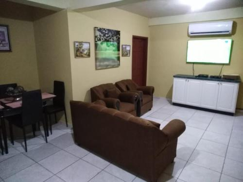 A seating area at Apart Hotel, Ceiba