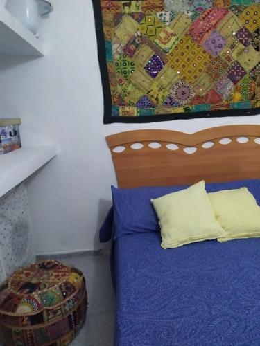 Cama o camas de una habitación en Apartamento ideal para familias