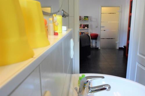 Ein Badezimmer in der Unterkunft Apartments Das Wünsch Ich Mir