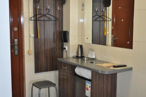 Ванная комната в Erunin Hotels Group, Dalidovicha 35
