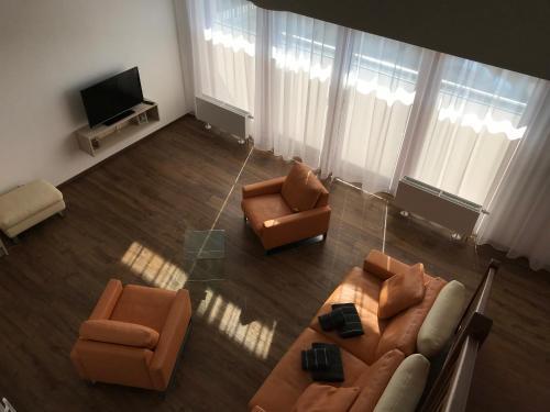 Posezení v ubytování Hotel Slavia Holešov