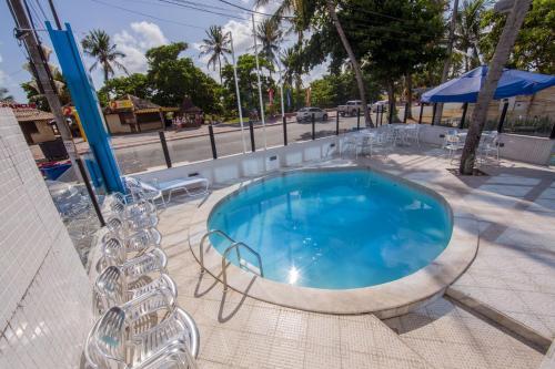 The swimming pool at or near Ambassador Flat