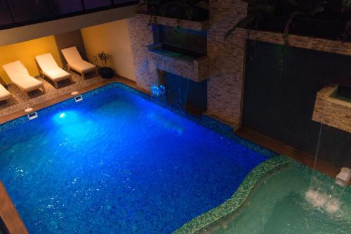 The swimming pool at or close to Hotel Paradis Cusco