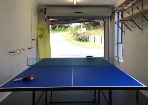 Ping-pong facilities at FAR SHORE or nearby