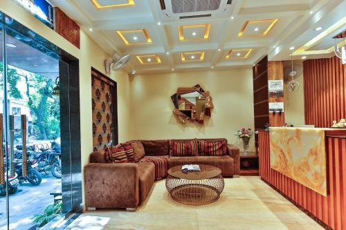 El vestíbulo o zona de recepción de Hotel Urban Galaxy