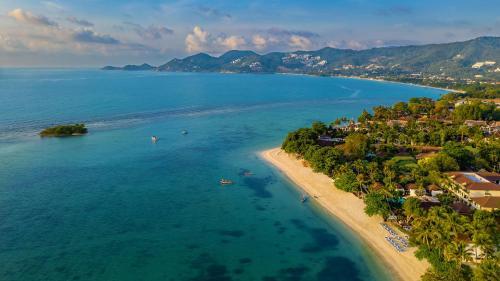 Samui Natien Resort с высоты птичьего полета