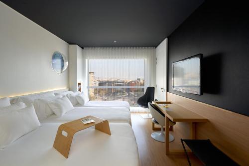 Uma área de estar em Barceló Sants
