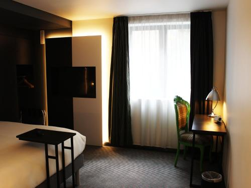 A television and/or entertainment center at ibis Styles London Southwark - near Borough Market