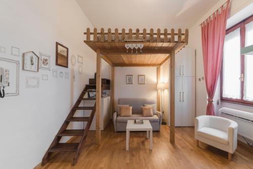Area soggiorno di La Casa di Leonardo
